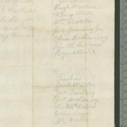 Document, 1775 March n.d.