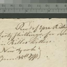 Document, 1790 June 25