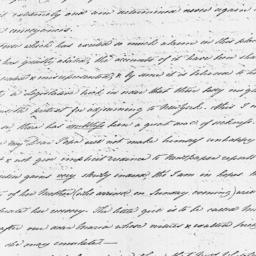 Document, 1813 February 09