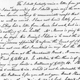 Document, 1809 January 20