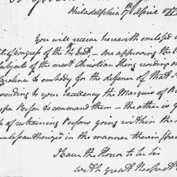 Document, 1779 April 17