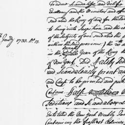 Document, 1734 n.d.