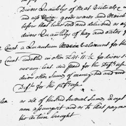 Document, 1735 June n.d.