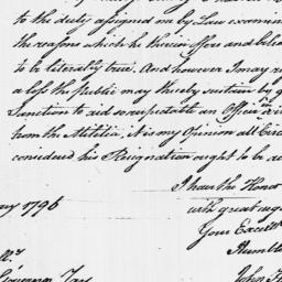 Document, 1796 January 16